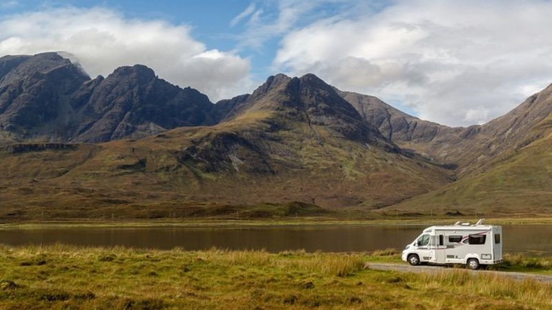 Continental-style stopovers planned for campervans in Highlands