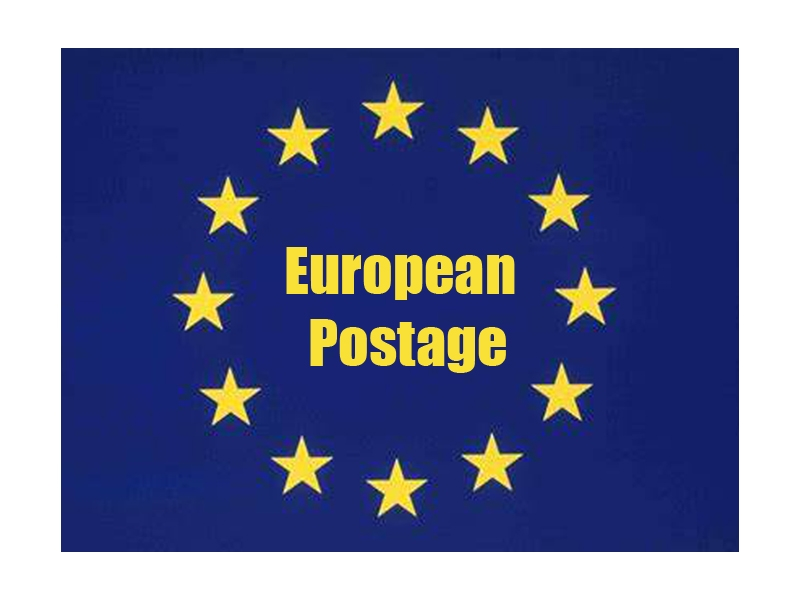 European postage costs