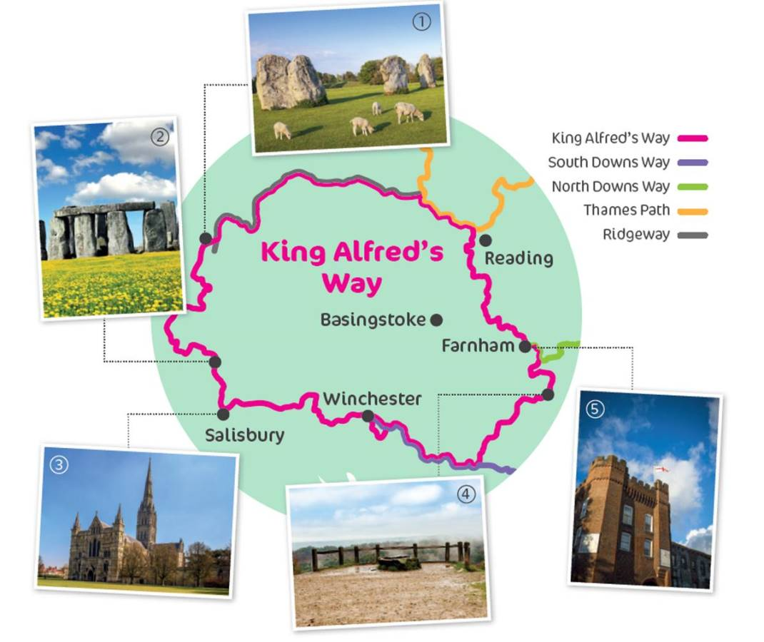 King Alfreds Way  Supported Ride on Fri 4th to Mon 7th June 2021