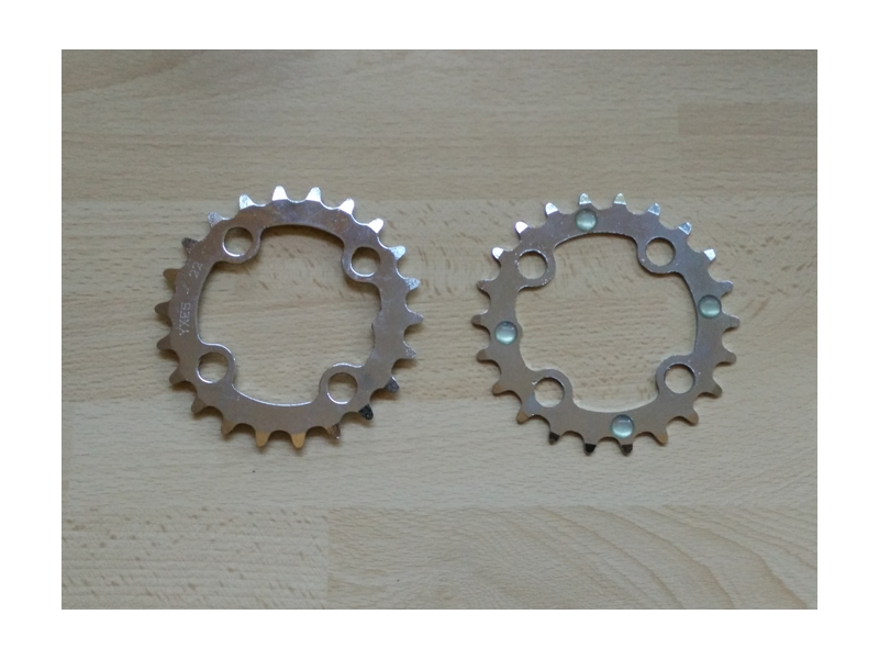 4 Chainring coasters