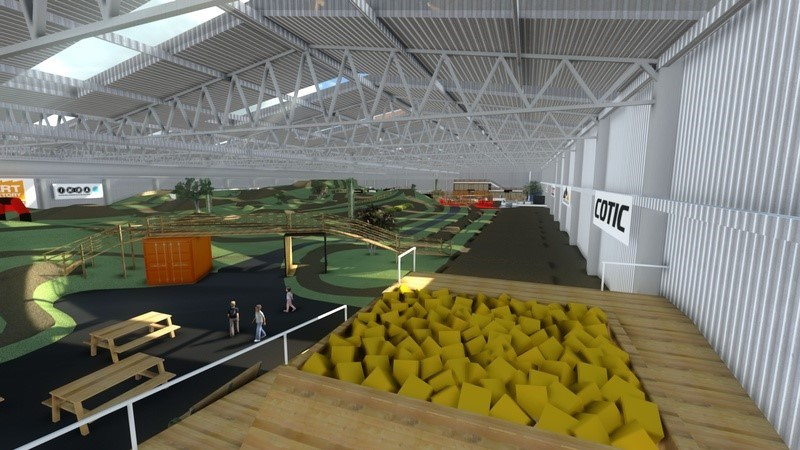 UKs first indoor bike park