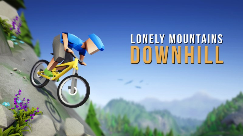 Downhill MTB computer game