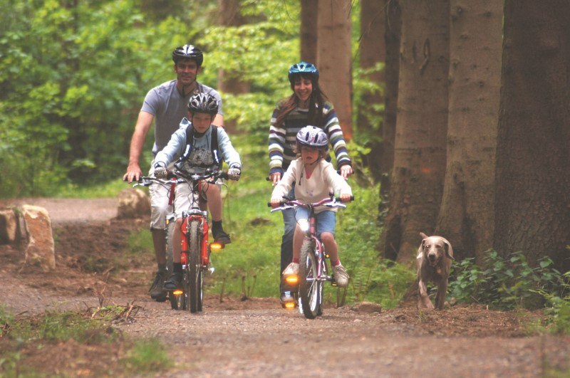 10 Great family-friendly cycle centres