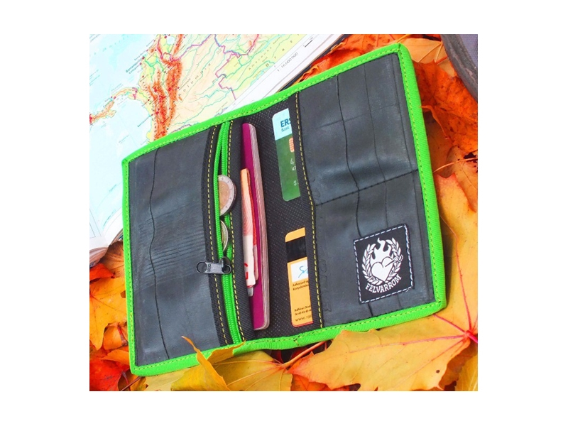 Large inner tube wallet