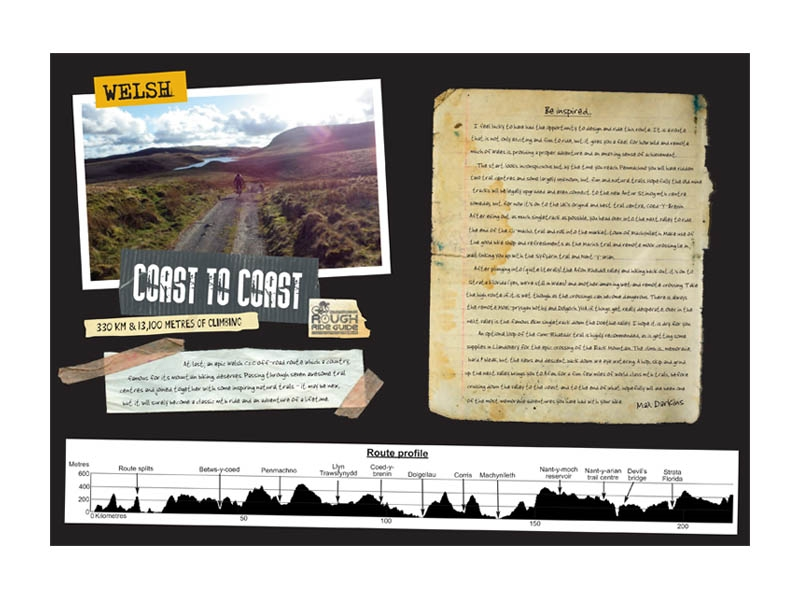 Welsh Coast 2 Coast route map and guide